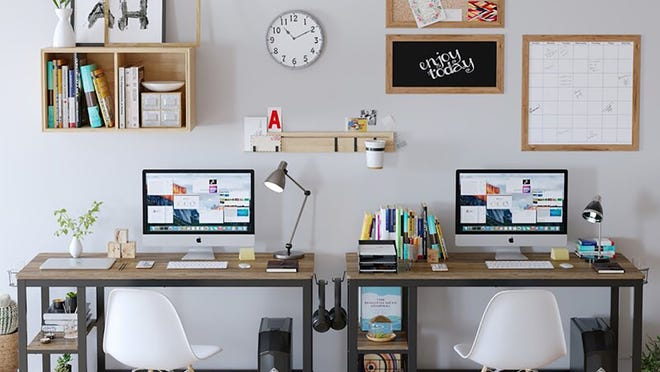 Make your work-at-home space your own.