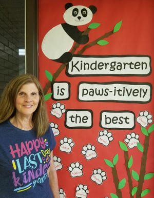 Diane Kuntzman retired this month after serving 44 years as a kindergarten teacher in Marlington Local School District.