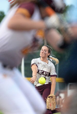 Alexis Anderson of West Bridgewater has been selected to The Enterprise All-Scholastic Softball Team.