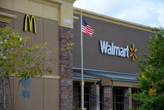 A Jacksonville Walmart on Philips Highway, not pictured here, is expanding with a new primary-care clinic.