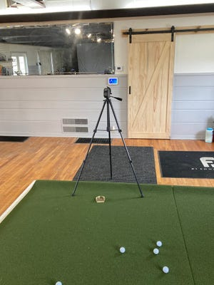 The Eldon Golf Club is now equipped with a learning center where you can analyze your shot characteristics.