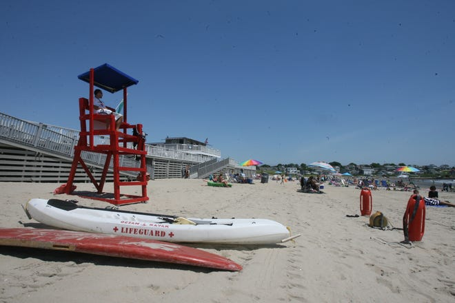 The beach at Bonnet Shores. A recent vote in the Bonnet Shores Fire District has shed light on a contentious issue facing non-firefighting fire districts: what its purpose is and who should control it.