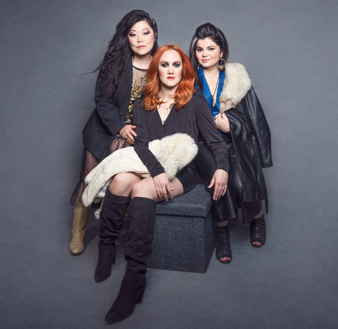 Nobody's Girl (from left, BettySoo, Grace Pettis and Rebecca Loebe) releases its self-titled debut album this week.