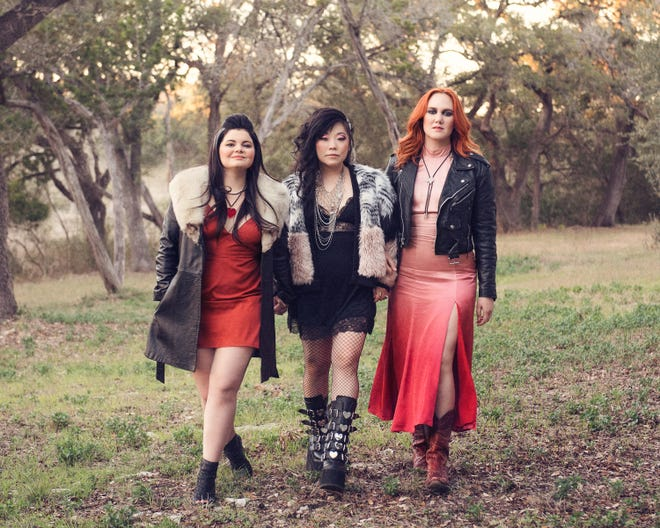 Rebecca Loebe, from left, BettySoo and Grace Pettis will continue their solo careers along with their band Nobody's Girl.