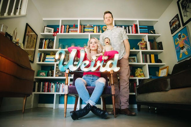 David J. and Chelle Neff started Weird Homes Tour in Austin and grew it to several other cities before deciding in June to retire from hosting the tour.