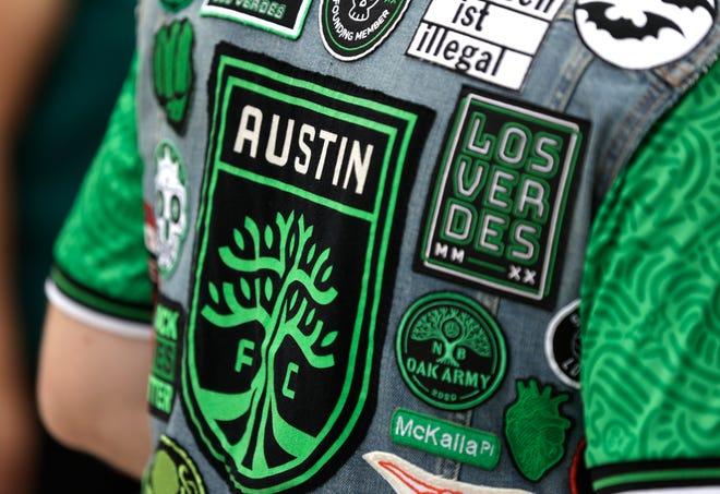 Jun 27, 2021; Austin, TX, Austin, TX, USA; Austin FC fans outside Q2 Stadium before their game against Columbus Crew.