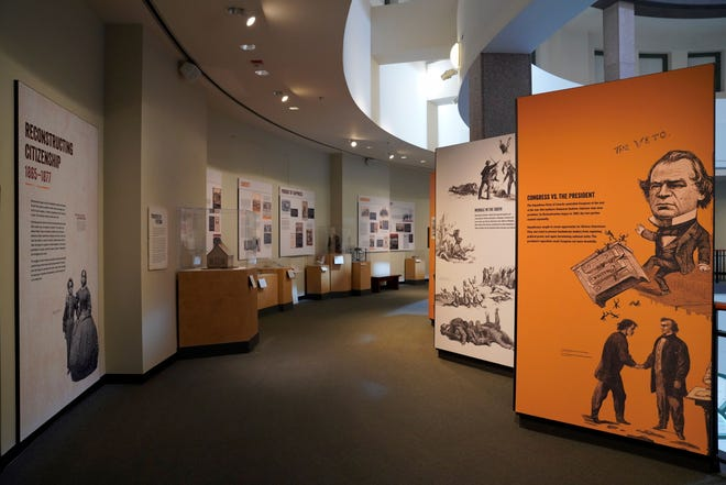 """""""Black Citizenship in the Age of Jim Crow"""" can now be seen at the Bullock Texas State History Museum."""
