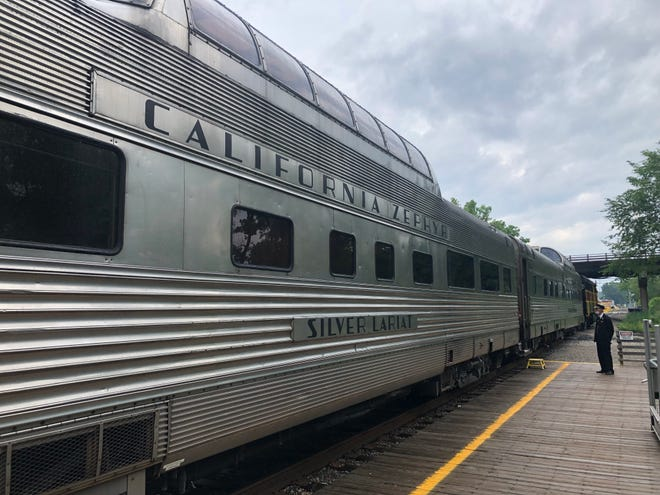 The Cuyahoga Valley Scenic Railroad's Dinner on the Train uses California Zephyr cars.