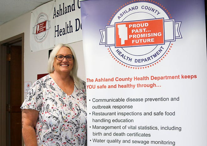 ickie Taylor is the new Ashland County Health Department commissioner.