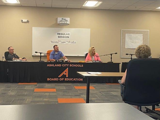 The Ashland City Schools Board of Education meets Monday evening.