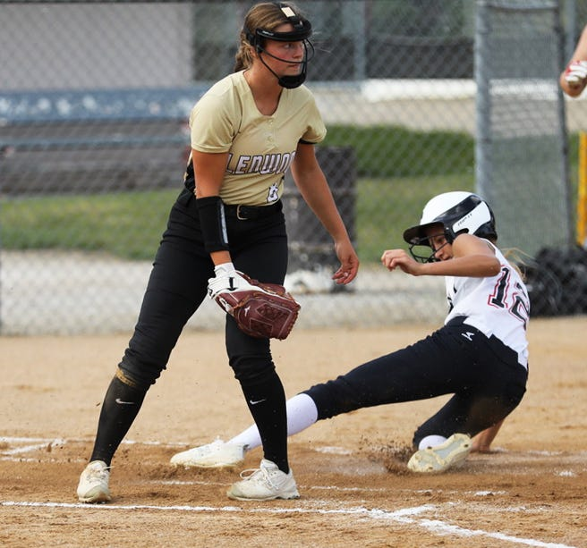 Kamryn Lande scored four runs and stole two bases for Roland-Story in a 20-1 victory over Glenwood at the Norsemen Classic Friday in Roland.