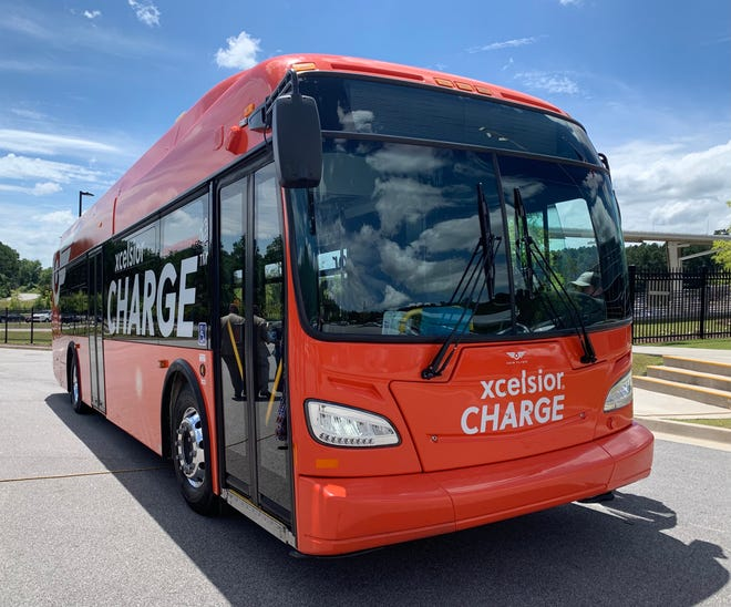 The Xcelsior CHARGE is an electric bus by New Flyer of America that is being considered for purchase by the City of Augusta.