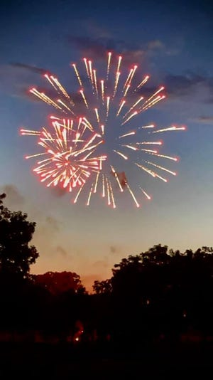 Beautiful fireworks illuminating the sky provided the perfect finale to the festival.