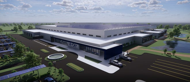 Amgen's New Albany packaging plant