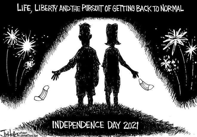 HAPPY 4TH OF JULY FROM DEVILS LAKE JOURNAL