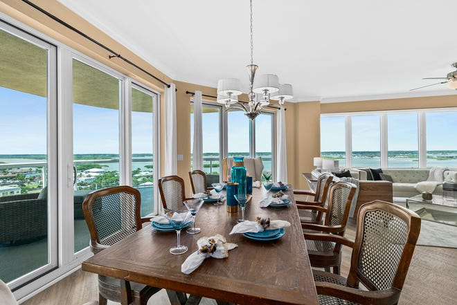 There's no escaping the amazing views that this gorgeous condominium offers.