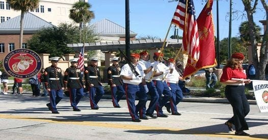 The Marine Corps League Daytona will host a special July 4 Veterans Ceremony and Parade today.