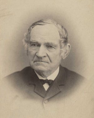 A cabinet card portrait in the collection of the Monmouth College archives shows a still-vibrant Truman Eldridg at about the age of 80.