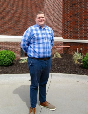 Conner Brinson recently was named Director of Student Ministries at First United Methodist Church in Geneseo