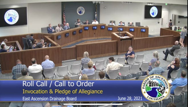 East Ascension Drainage Commission held a special meeting June 28. The board voted to oust Ascension Parish President Clint Cointment and establish a Chief Executive Officer position for eastbank drainage.