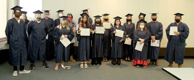 Highland Community College held its General Education Development graduationceremonyJune 16.