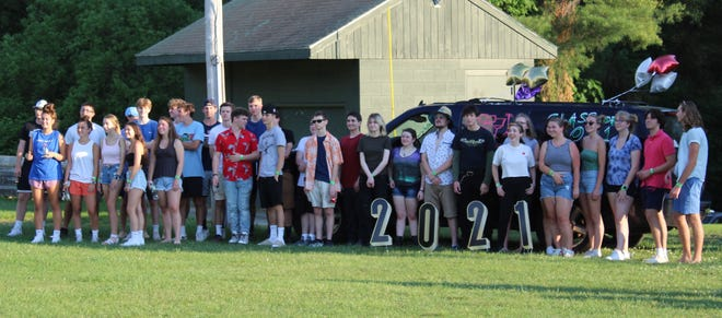 Thirty-two students from Paxton's class of 2021 attended a private graduation party June 6, organized by parents and members of the community.