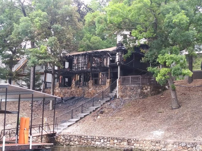 No one was injured in a house fire that occurred Sunday afternoon.