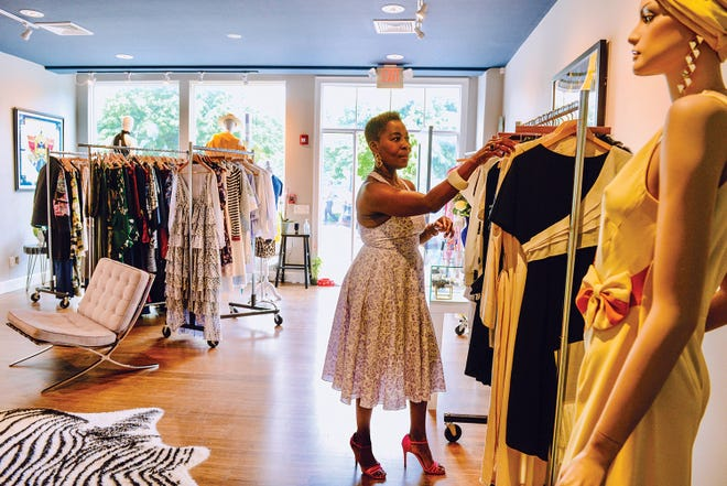 Sandee Saunders co-founded FABuleuse, a new store off Bellevue offers apparel for men, women and children.