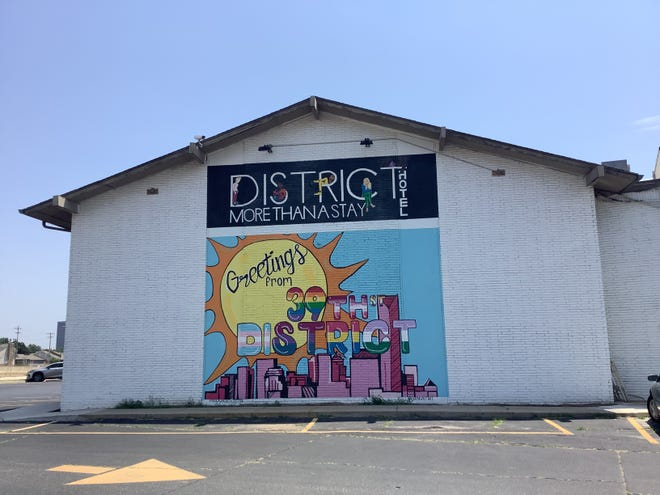 The District Hotel in Oklahoma City's 39th Street District is a popular spot for the city's LGBTQ community. It reopened its popular nightclub, The Living Room, formerly called The Copa, on June 26.