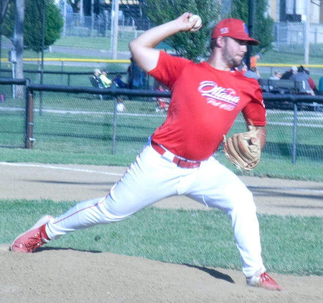Ottawa Arrows pitcher Matt Fanning and his Ottawa teammates will be back in action 6-8 p.m. Tuesday af home against the Oak Park Owls. Ottawa has been off since this past Tuesday's split with the Kansas Senators. Ottawa will compete this weekend in the Hays Tournament, beginning Thursday.