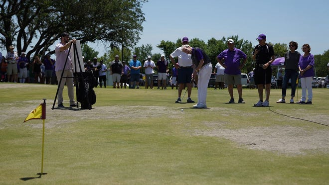 Tarleton Athletics' 30th Annual Perry Elliott Plowboy Shootout presented by First Financial Bank saw 244 fans of the purple and white enjoy a round of golf at Squaw Creek Golf Course Friday.
