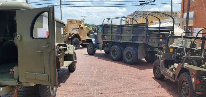 National Health & Public Safety History Museum in Dublin hosted a Military Vehicle Show on Saturday. Everyone learned much from the vehicle owners and the museum was packed all day. The Erath County Sheriff's Office helped out with the event because the National Guard got called away on a deployment.