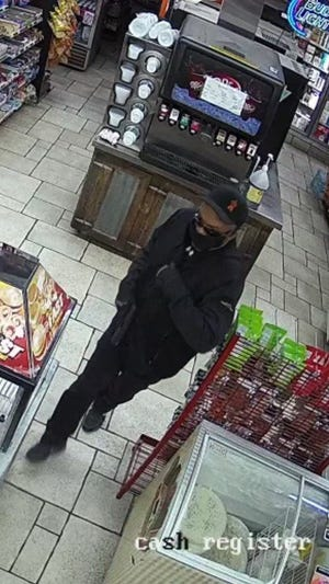 The Stephenville Police Department searching for this suspect in an aggravated robbery that occurred on Sunday, June 27, at the Wrangler's Convenience Store located at 301 W. Lingleville.