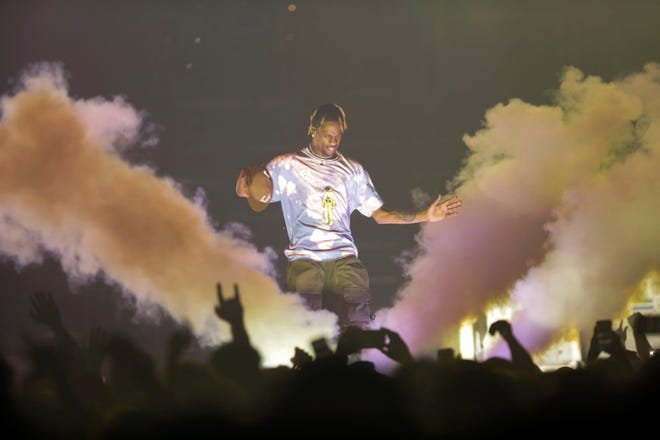 Travis Scott – seen here performing at Capital One Arena on Tuesday, March 12, 2019, in Washington – will be one of the headliners at Rolling Loud Miami.