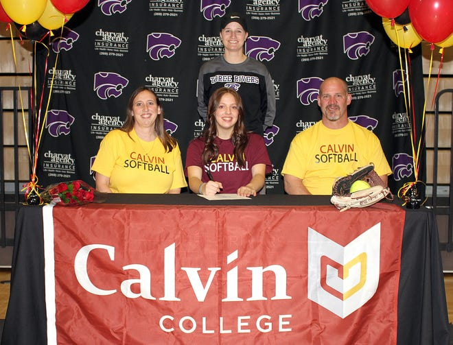 Shantel Blyly will continue academics and softball at Calvin College.