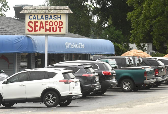 Calabash Seafood Hut in Calabash, N.C. Saturday Aug. 1, 2020. The growth seen in the Calabash area has some residents concerned about its traffic and infrastructure issues.