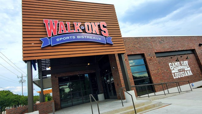 Walk-On's Sports Bistreaux plans to open Monday, July 5, at Independence Mall in Wilmington.