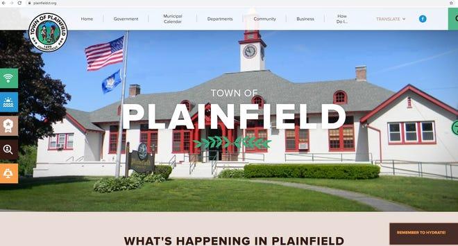 New Plainfield town website.