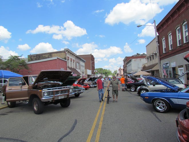 A car show helped send out the 2021 Cy Young Festival in Newcomerstown.
