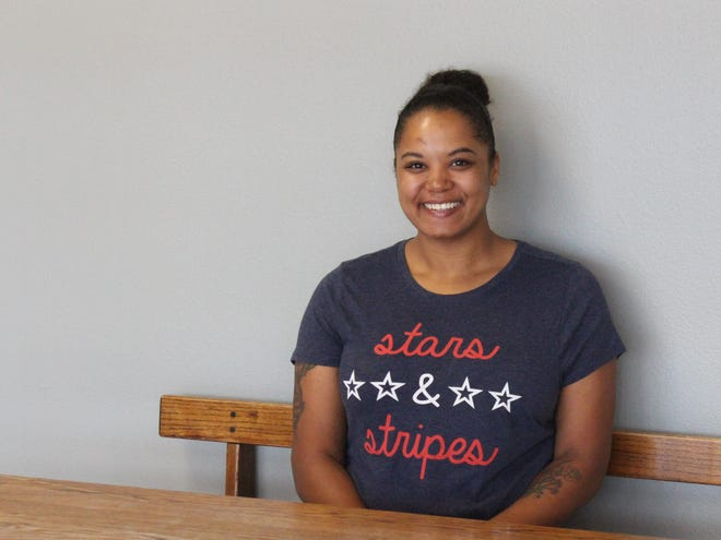 Samantha Bailey of Charleston took part in the Crawford-Sebastian Community Development Council's Transition Out of Poverty Services program. Now she is one of council's board members.