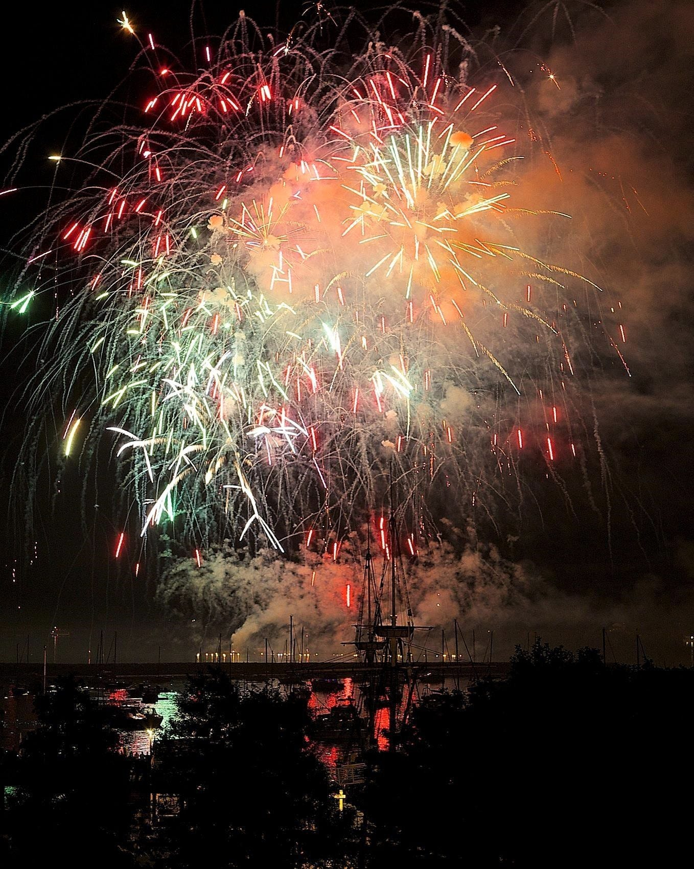 Plymouth will celebrate America's Birthday with patriotic music and fireworks on July 5.