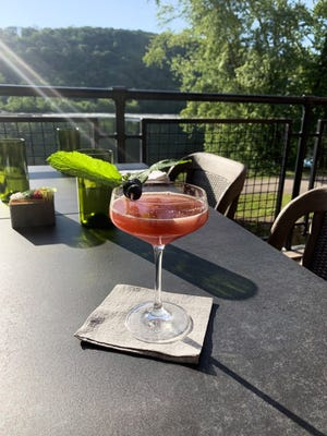 River House at Odette's is offering the West River cocktail for Fourth of July.
