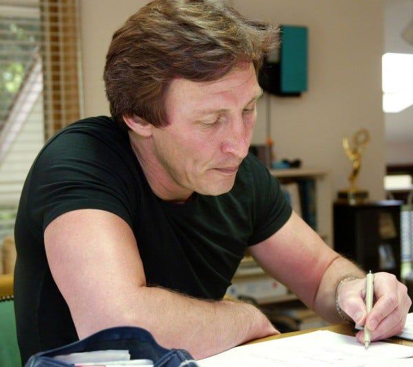 Tom Wilson II, the current maker of the Ziggy cartoon.