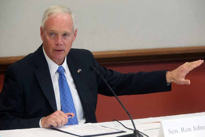 Republican U.S. Sen. Ron Johnson of Wisconsin.