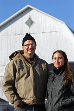 John and Kim Koepke run Koepke Family Farms in Waukesha County, with 360 cows.