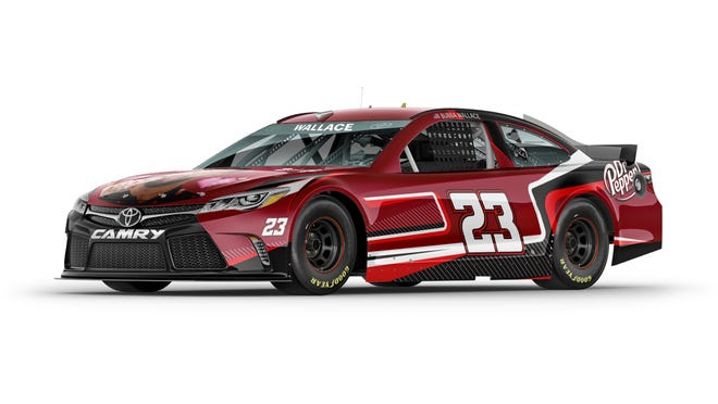 Here's the crowd-sourced design of the car Bubba Wallace is to race in the NASCAR Cup Series on July 4 at Road America in Elkhart Lake, Wisconsin
