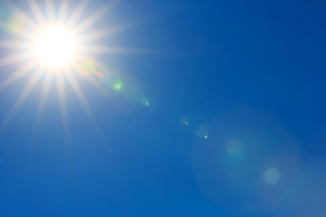 A heat advisory is in effect through 8 p.m. Monday