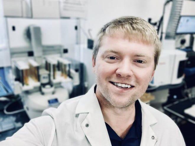 Jared Nieuwenhuis, owner of Cannabis ChemLab.