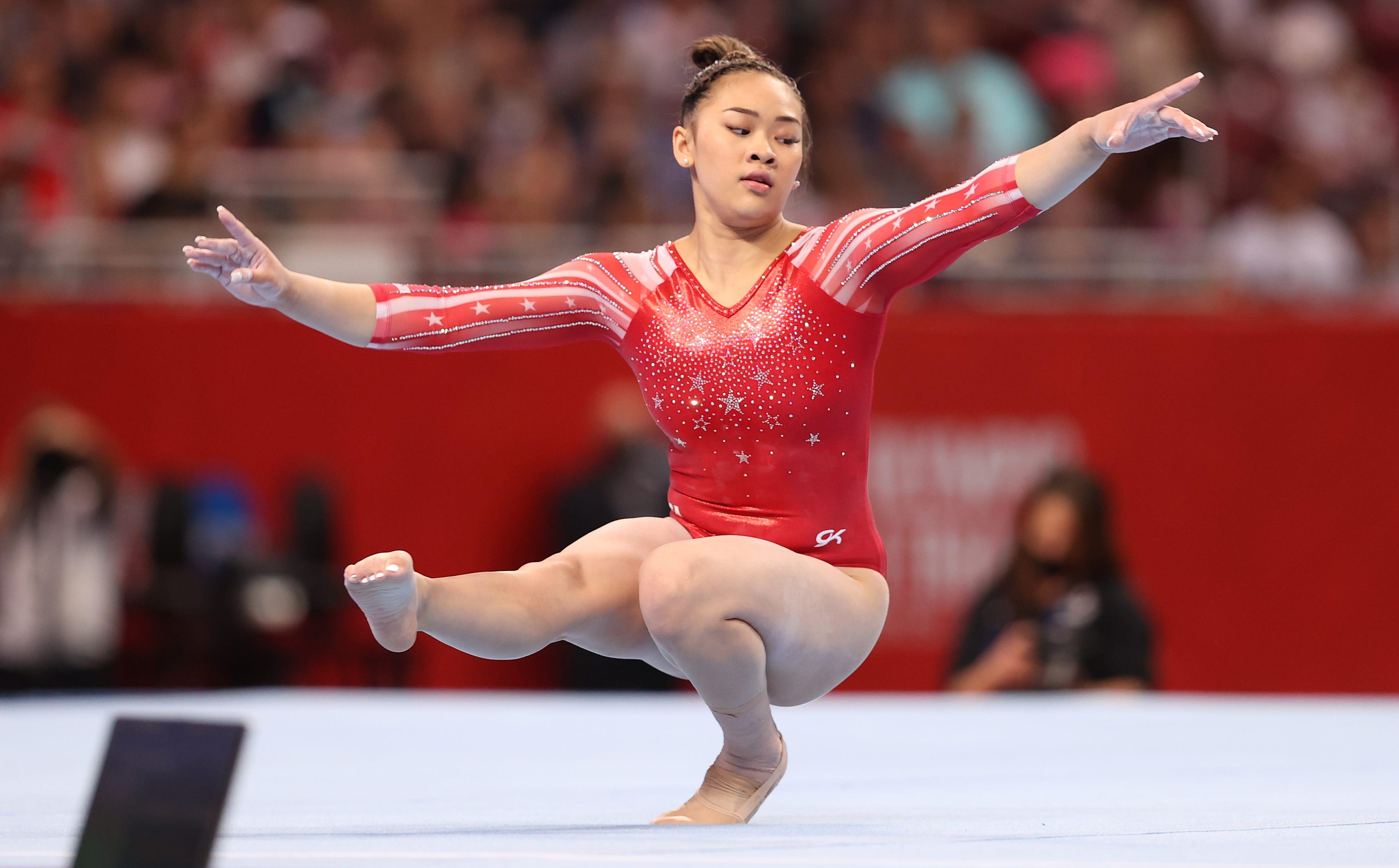 Sunisa Lee punches Olympics ticket with slight edge over Simone Biles