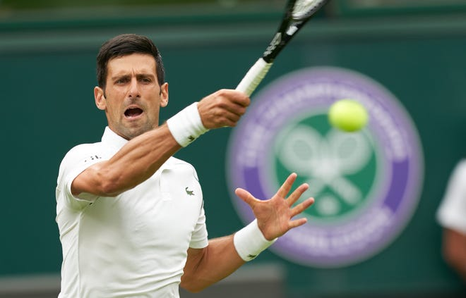 French Open men's runner-up, two-time Wimbledon women's champ ousted on Day 1 of Wimbledon